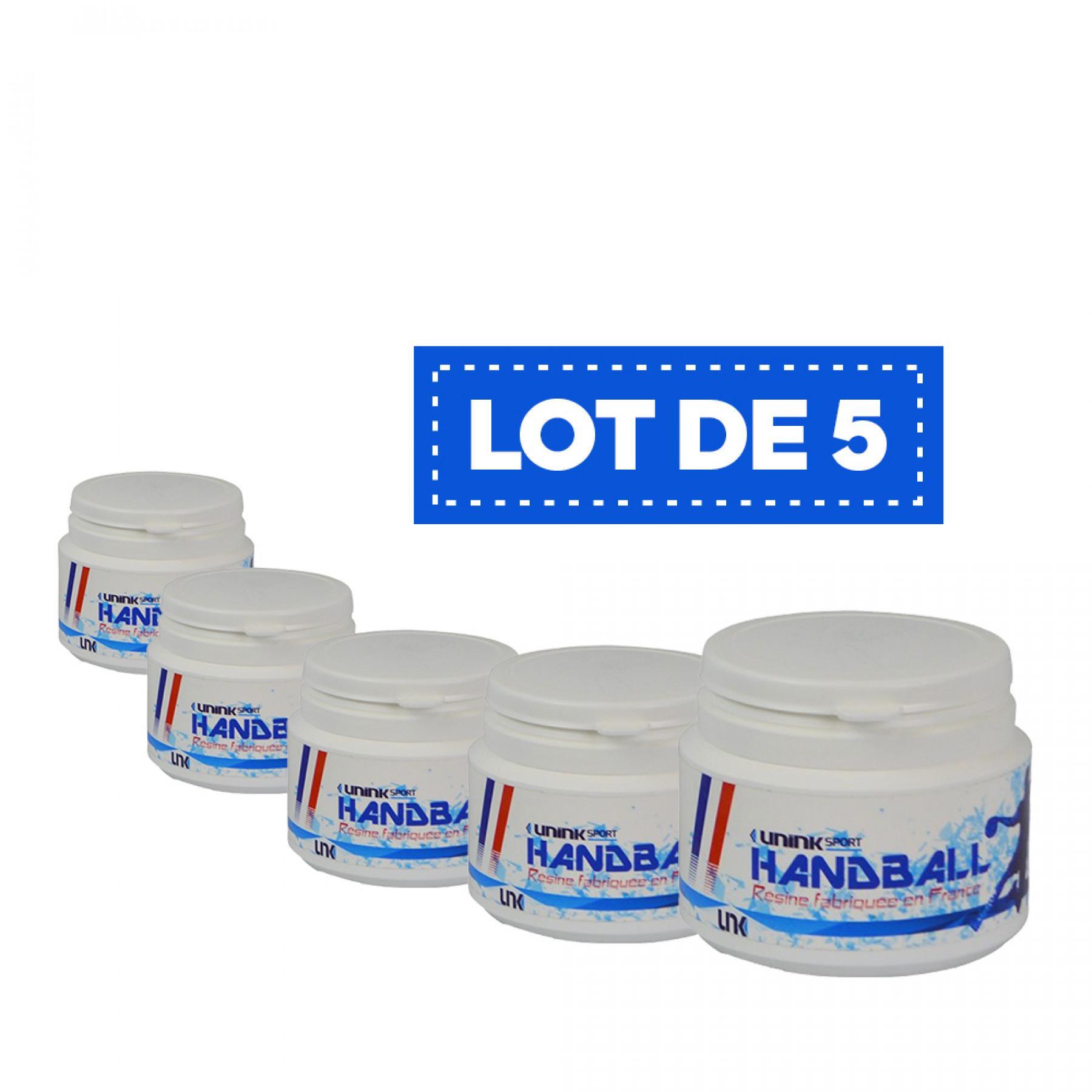 Lot de 5 Résine blanche haute performance Sporti France - 100 ml