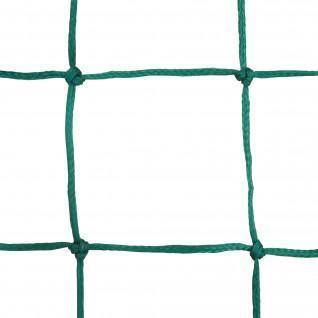 Paire de filets handball PE tressé 3mm simple maille 100 Sporti France