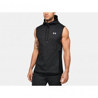 Sweat à capuche sans manches Under Armour Double Knit