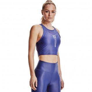 Débardeur femme Under Armour court  iso-chill