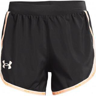 Short femme Under Armour Fly-By2.0 Brand