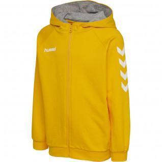 Sweatshirt enfant zippé à capuche Hummel hmlgo cotton
