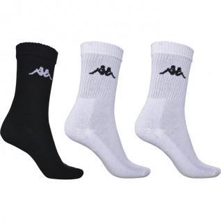 Lot de 3 paires de chaussettes Kappa Chimido