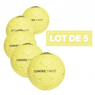 Lot de 5 ballons adidas Comire Twist