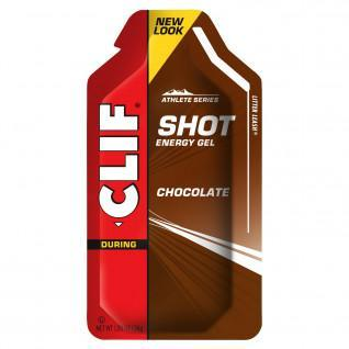 Lot shot gel chocolat Clif Bar (x24)