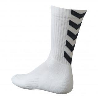 Chaussettes Hummel Authentic Indoor - Blanc/Noir