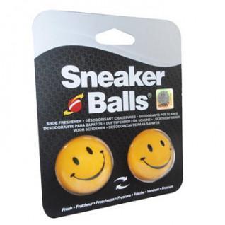 Lot de 6 paires de boules désodorisantes Sneakerballs Happy Face