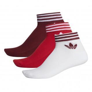 Socquettes adidas Trefoil (x3)