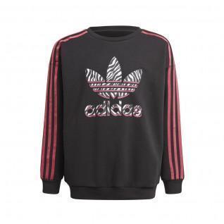 Sweatshirt fille adidas Originals Graphic Print