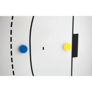 Tableau magnétique et effaçable - 90 x 60 cm Power Shot