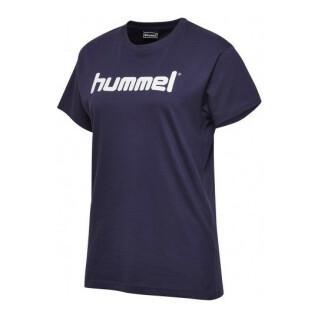 T-shirt femme Hummel go logo
