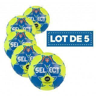 Lot de 5 ballons Select Maxi Grip