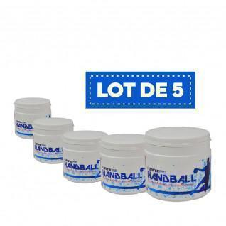 Lot de 5 Résines blanches haute performance Sporti France - 500 ml