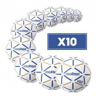 Lot de 10 Ballons Molten D60