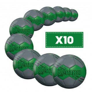 Lot de 10 Ballons Kempa Gecko