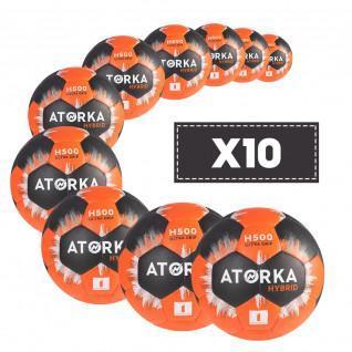 Lot de 10 ballons junior Atorka H500