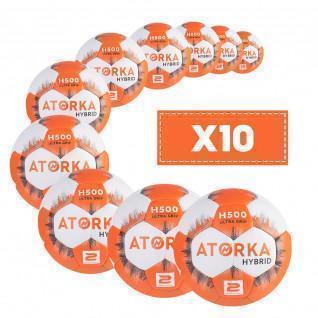 Lot de 10 ballons Atorka H500