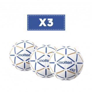 Lot de 3 Ballons Molten D60