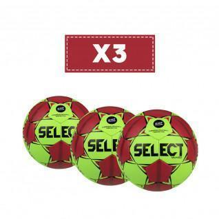 Lot de 3 ballons Select Mundo v20/22