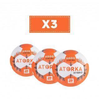 Lot de 3 ballons Atorka H500