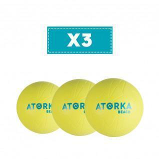 Lot de 3 Ballons de Beach Handball Atorka HB500B