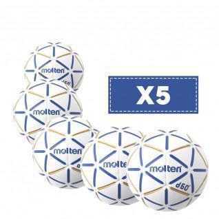 Lot de 5 Ballons Molten D60