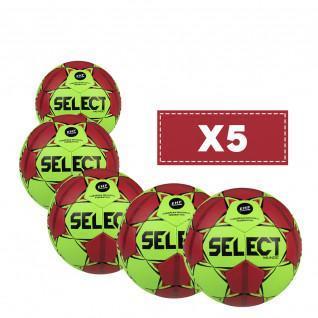 Lot de 5 ballons Select Mundo v20/22