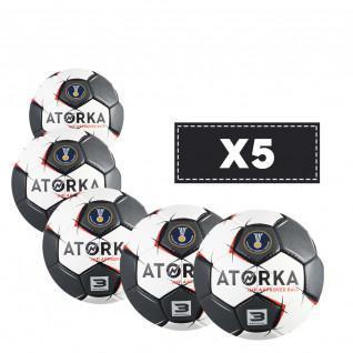 Lot de 5 ballons Atorka H900