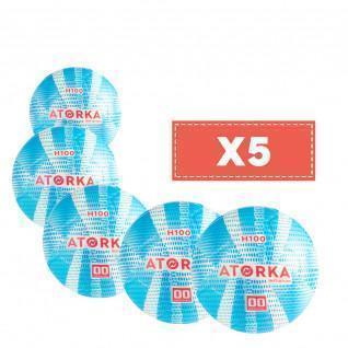 Lot de 5 ballons enfant Atorka H100 Initiation