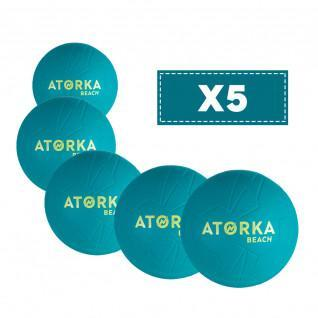 Lot de 5 Ballons de Beach Handball Atorka HB500B