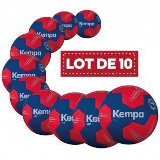 Lot de 10 ballons Leo Kempa