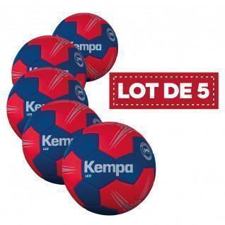 Lot de 5 ballons Leo Kempa