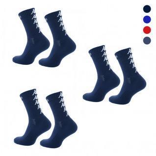Lot de 3 paires de chaussettes Kappa Eleno