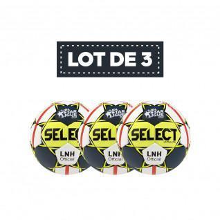 Lot de 3 Ballons Select Replica LNH 19/20