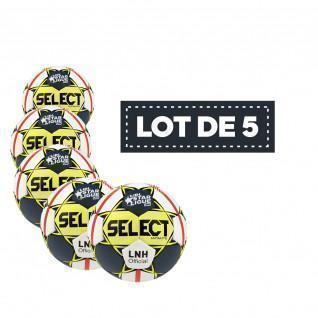 Lot de 5 Ballons Select Replica LNH 19/20