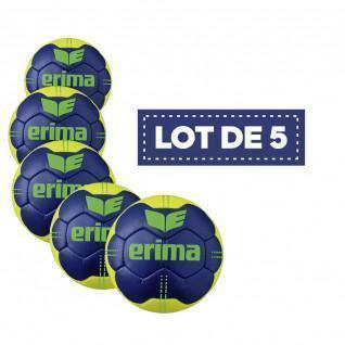 Lot de 5 Ballons Erima Pure Grip N° 4