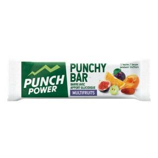 Présentoir 40 Barres énergétiques Punch Power Punchybar Multifruit