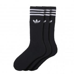Chaussettes mi-mollet adidas (3 paires)