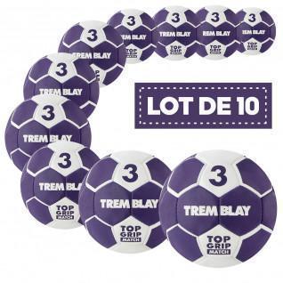 Lot de 10 ballons Tremblay top grid 2ème génération