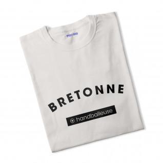 T-shirt femme Bretonne + Handballeuse