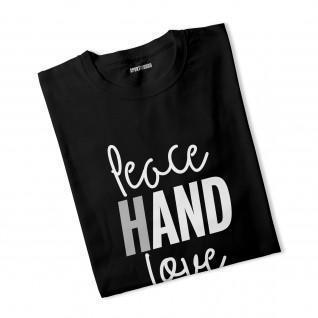 T-shirt femme Peace Hand Love
