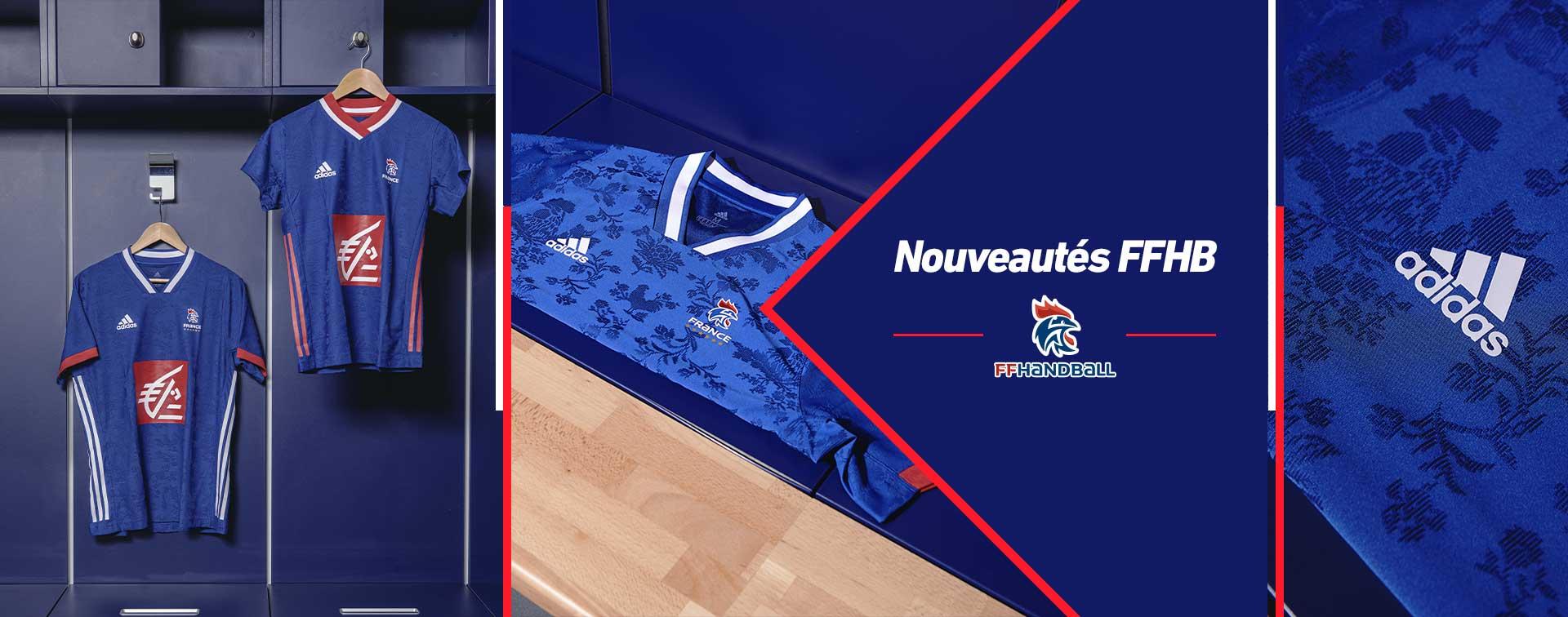 Nouveaux maillots adidas FFHB France handball