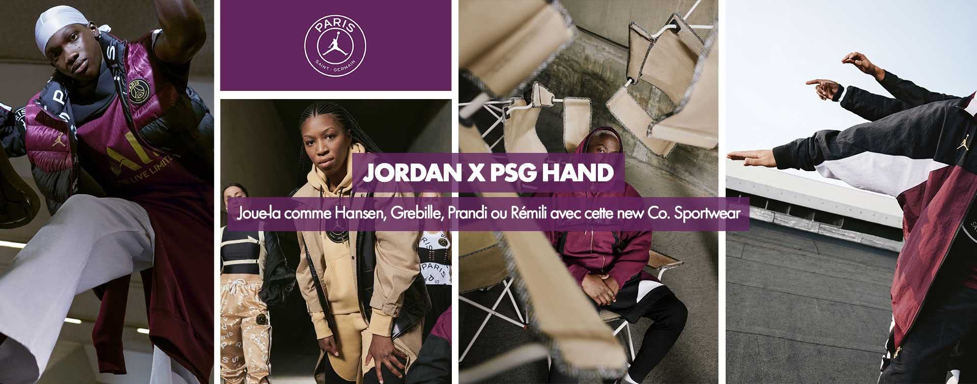 PSG HAND x JORDAN sportswear