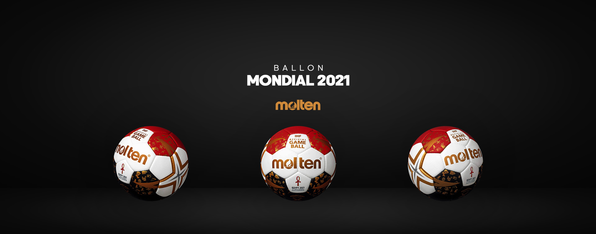 Ballon Molten mondial 2021 IHF
