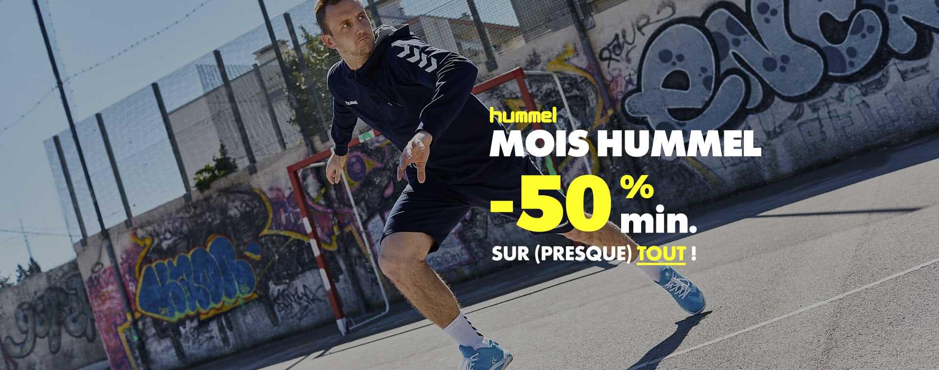 Hummel -50% min.