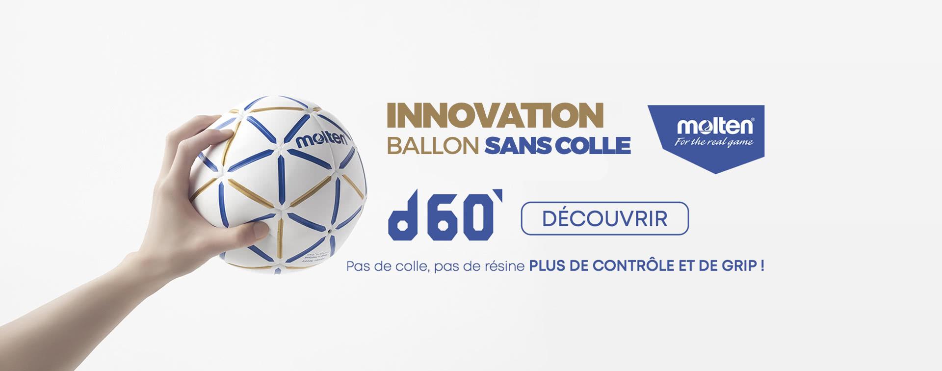 Nouveau ballon Molten D60
