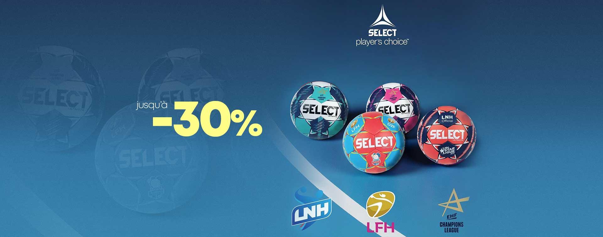 Promotions ballons Select jusqu'à -30%