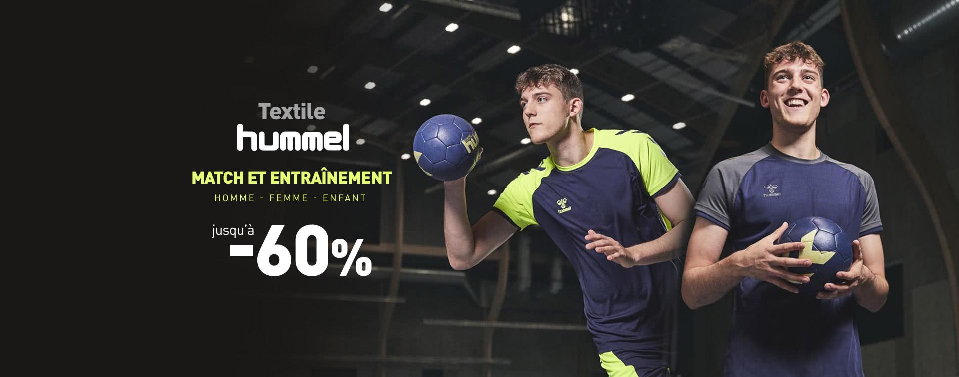 Promotions Textile Hummel jusqu'à -60%